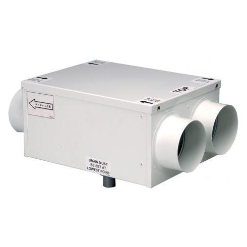 HR100R központi hővisszanyerős szellőző
