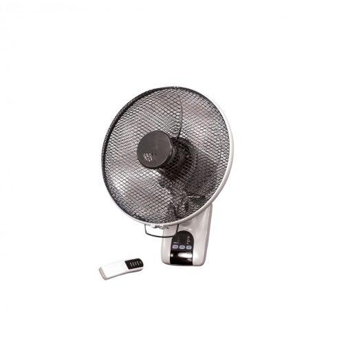 """WALL12"""" nyári ventilátor (álló/falra szerelhető), időzítő + távirányító"""