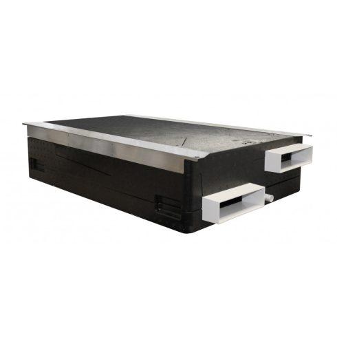 SENTINEL KINETIC 200ZH központi hővisszanyerő (vízszintes), páraérzékelővel