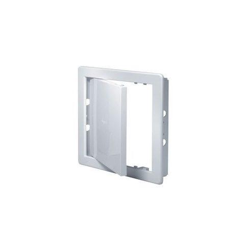 Szervízajtó PVC [150x150] - fehér