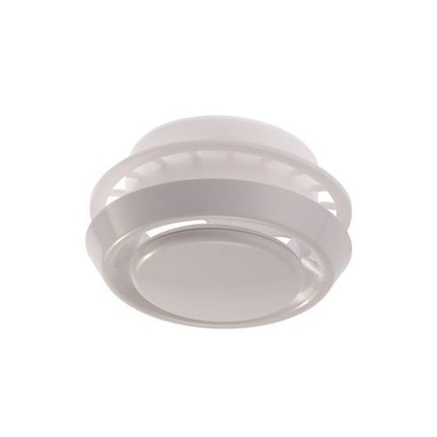 Légszelep ellenkerettel PVC - NA100