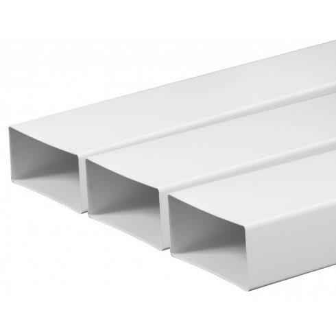Laposcsatorna PVC [55x110] 0,5m