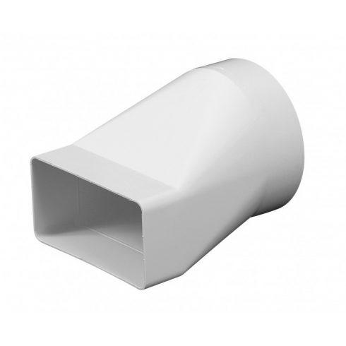 Átalakító vízszintes (egyenes) PVC [55x110/NA100)