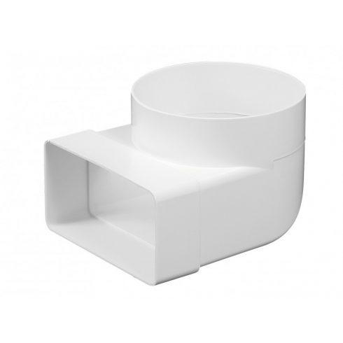 Átalakító függőleges PVC [75x150/NA125)