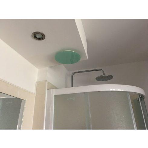 MAT - Üveg tányérszelep - kör alakú, fényes NA160