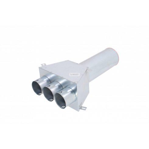 MAT - KLO-3X75/P-125-OC - egyenes mennyezeti/fali átvezető doboz